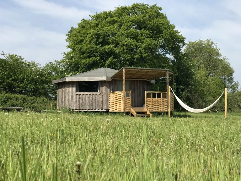 Yabin grey willow yurts