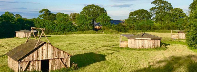 yurt glamping in devon_site