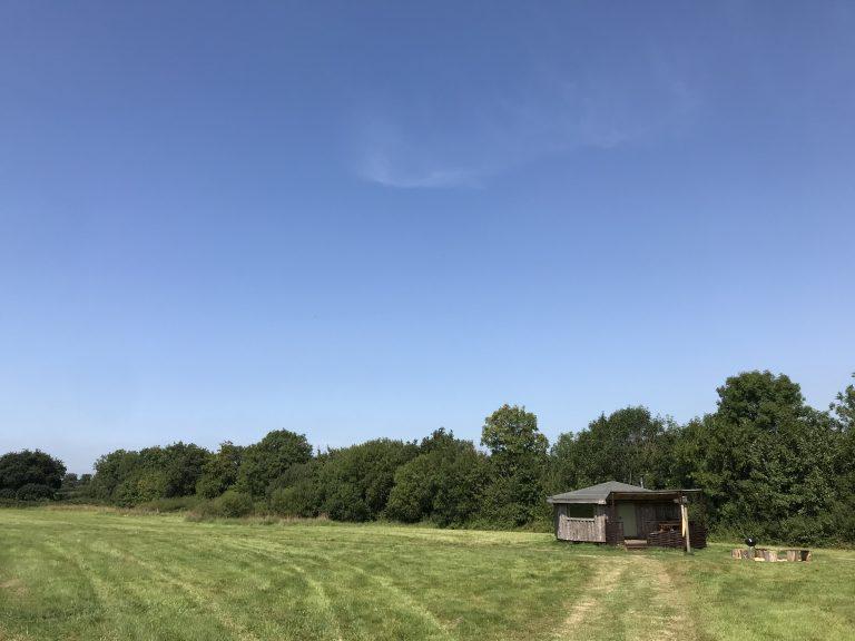 Yurt Glamping in Devon_site field